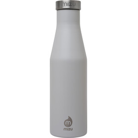 MIZU S4 juomapullo with Stainless Steel Cap 400ml , harmaa